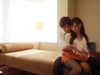 ☆とっても優しい彼とのうだうだ仲良しな休日♪何度も微笑み合いながらのキス☆ず~っとくっついていたい!のサムネイル画像